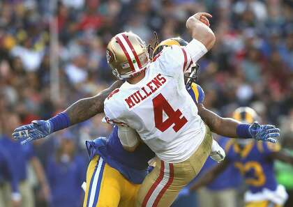 49ers' Mullens quick to identify offseason focus
