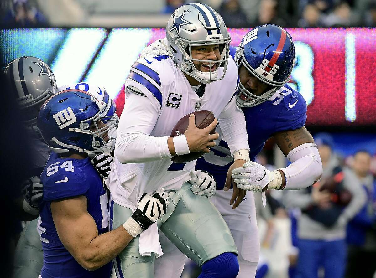 You said quarterback Dak Prescott looks more confident than the last time you faced Dallas. How has that shown up on film? Wagner: