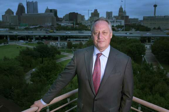 Within his first month as UTSA president, Taylor Eighmy created three initiatives focusing on student success, strategic enrollment and budget modeling. He also has called for a greater sense of urgency to improve graduation rates, emphasizing that student success and the city's economic prosperity are intertwined.
