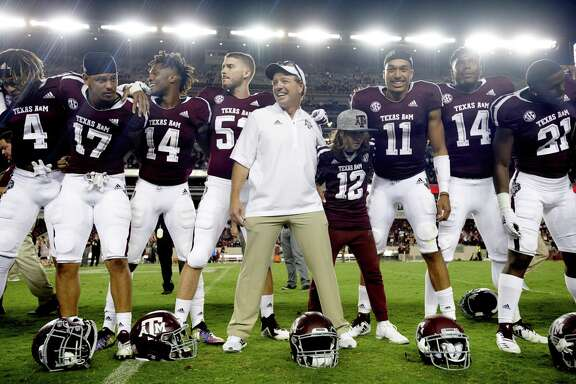 New Texas A&M coach Jimbo Fisher has had some ups and downs in his first season in College Station, and it ends with a matchup against North Carolina State in the Gator Bowl on Monday.