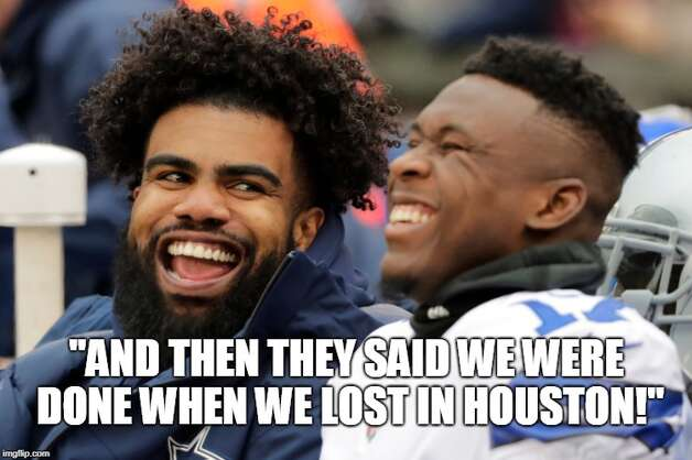 Dallas Cowboys Week 17: Cowboys 36, Giants 35 After losing to the Texans in Week 5, the Cowboys rebounded to finish 10-6. Photo: Matt Young