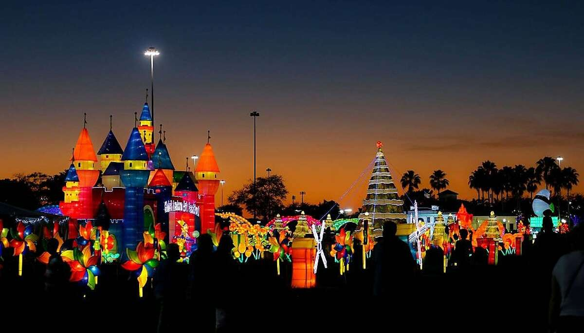 The Lantern Light Festival is at the Alameda County Fairgrounds until Jan. 20, 2018.