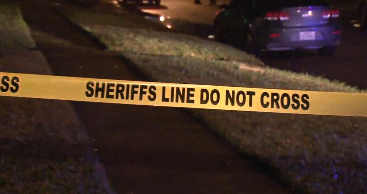 One person died in a shootout on Duncannon and Barbara Mae in Cloverleaf, on Monday, Dec. 31, 2018.