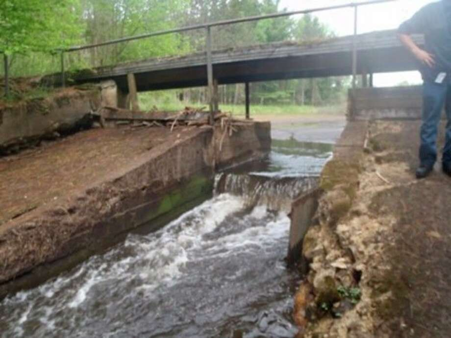 The Middle Branch Cedar River Dam is scheduled to be removed this year. (Photo provided)