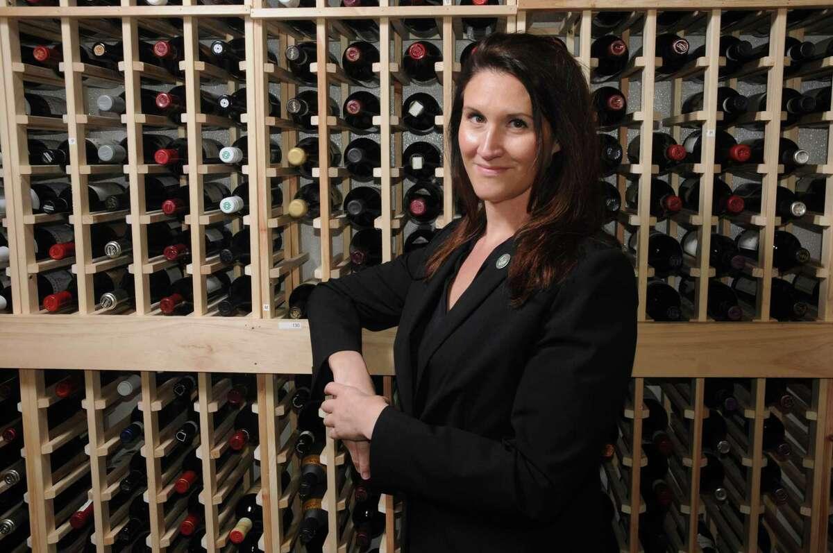 Julie Dalton, the sommelier at Mastro's steakhouse