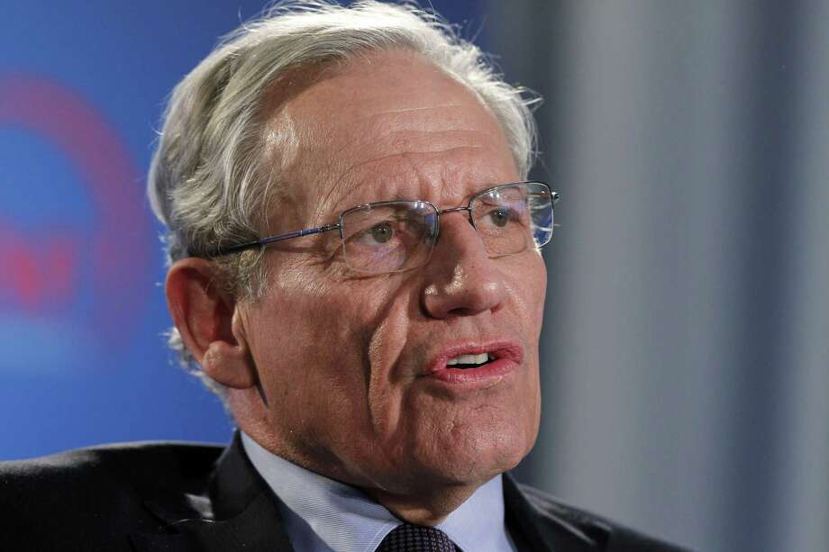 Journalist/author Bob Woodward will talk at College Street Music Hall in New Haven Jan. 22. Photo: Alex Brandon / Associated Press / Copyright 2018 The Associated Press. All rights reserved.