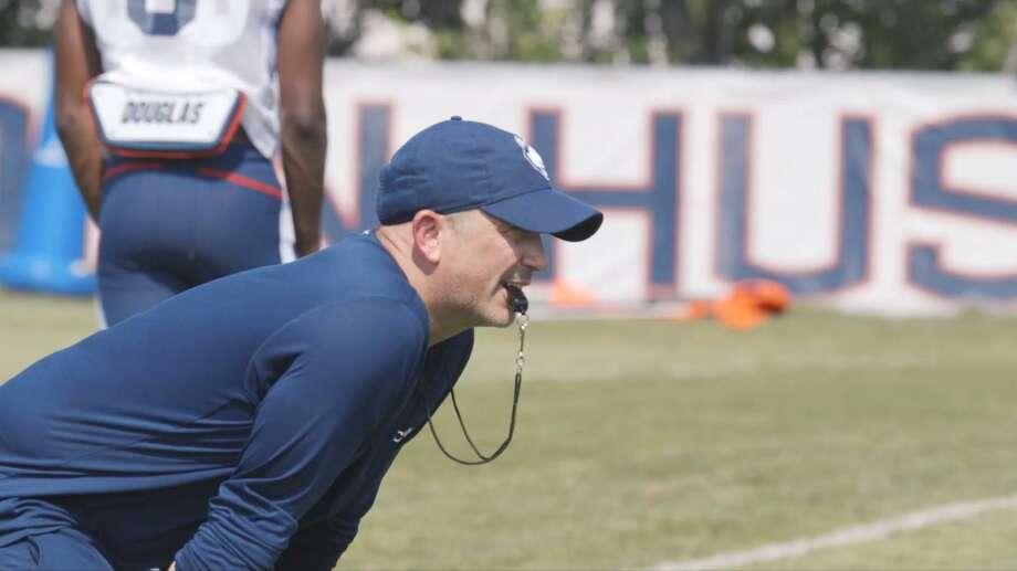 Former UConn defensive coordinator Billy Crocker. Photo: UConn Athletics