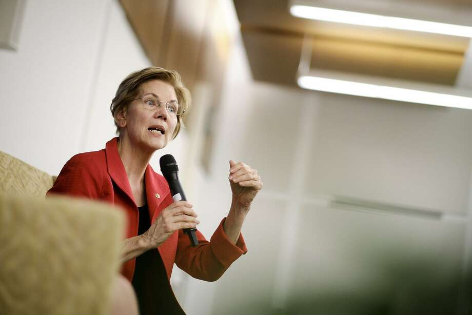 Sen. Elizabeth Warren, D-Mass, says she is forming an exploratory committee, which allows her to raise money and fill staff positions before a formal kickoff of her presidential bid. Photo: T.J. Kirkpatrick / New York Times 2018