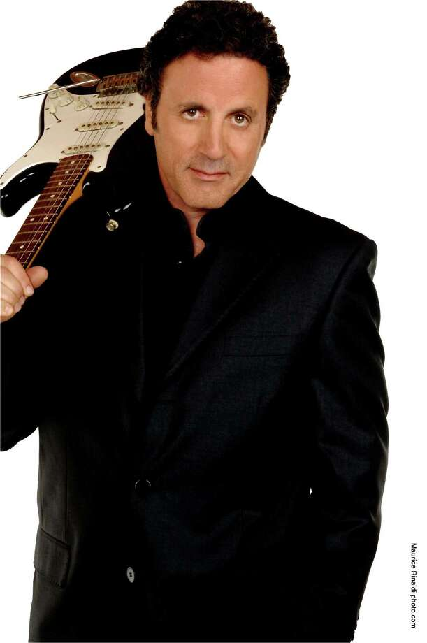 Frank Stallone with his guitar. Photo: Mohegan Sun / Contributed Photo