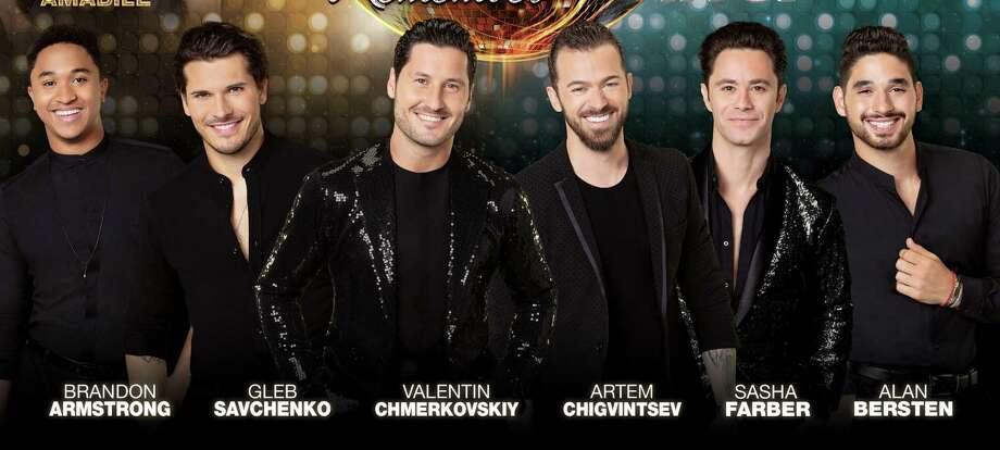 """Male dancers of the touring """"Dancing With the Stars Live."""" Photo: Mohegan Sun / Contributed Photo"""