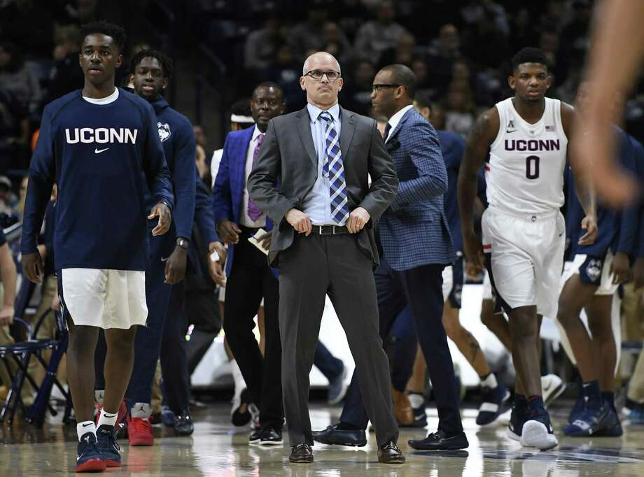 Dan Hurley and the UConn men's basketball team returns to action on Wednesday at USF. Photo: Jessica Hill / Associated Press / Copyright 2018 The Associated Press. All rights reserved