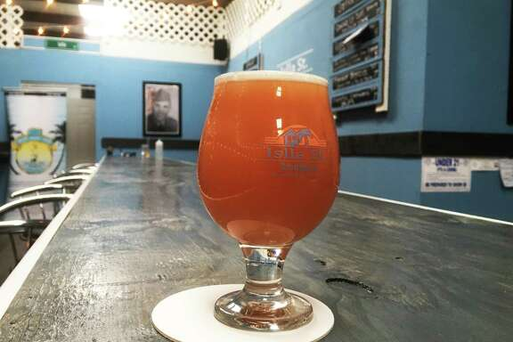 A Pineapple Empanada Double IPA is one of 10 beers on the tap line at Islla St. Brewing Co. The brewery, located near the intersection of O'Connor Road and Wurzbach Pkwy, is opening this weekend.