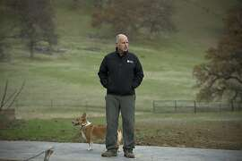 Jerry Brown at his ranch