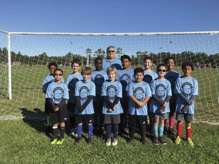 Register now for Conroe United's Spring Soccer Season. Boys and girls ages 4-11. Cost is $30 for Conroe residents and $37 for non-residents. Registration deadline is January 26. The inaugural season of Conroe United had over 350-plus kids.