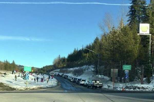 Stop playing in snow alongside highways, Caltrans implores ... on