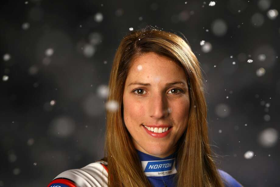 PARK CITY, UT - SEPTEMBER 25: Luger Erin Hamlin poses for a portrait during the Team USA Media Summit ahead of the PyeongChang 2018 Olympic Winter Games on September 25, 2017 in Park City, Utah. (Photo by Ezra Shaw/Getty Images) Photo: Ezra Shaw / Getty Images