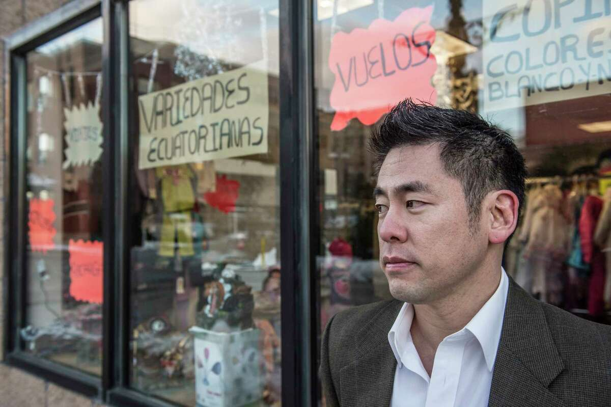 Steven Choi, executive director of the New York Immigration Coalition. (Robert Stolarik/The New York Times)
