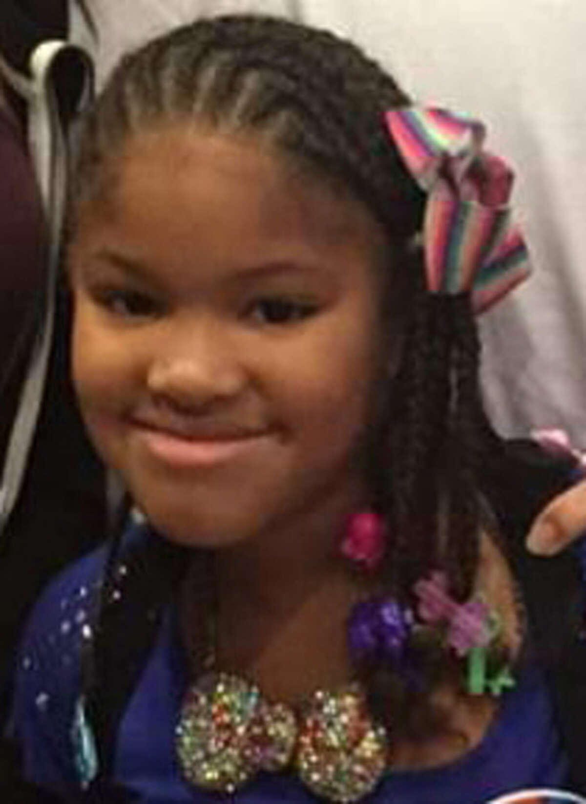 Jazmine Barnes, 7, was shot and killed Sunday morning as her family drove to Walmart.