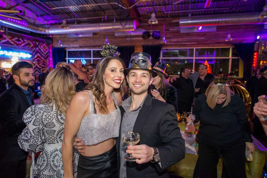 It was a swanky and glam affair at the Paramour Monday night Dec. 31, 2018, as locals rang in the new year in style. Photo: Kody Melton For MySA