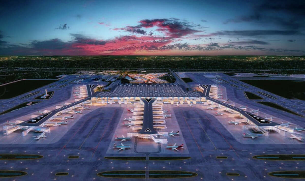 The full opening of Istanbul's new airport has been delayed unto March.