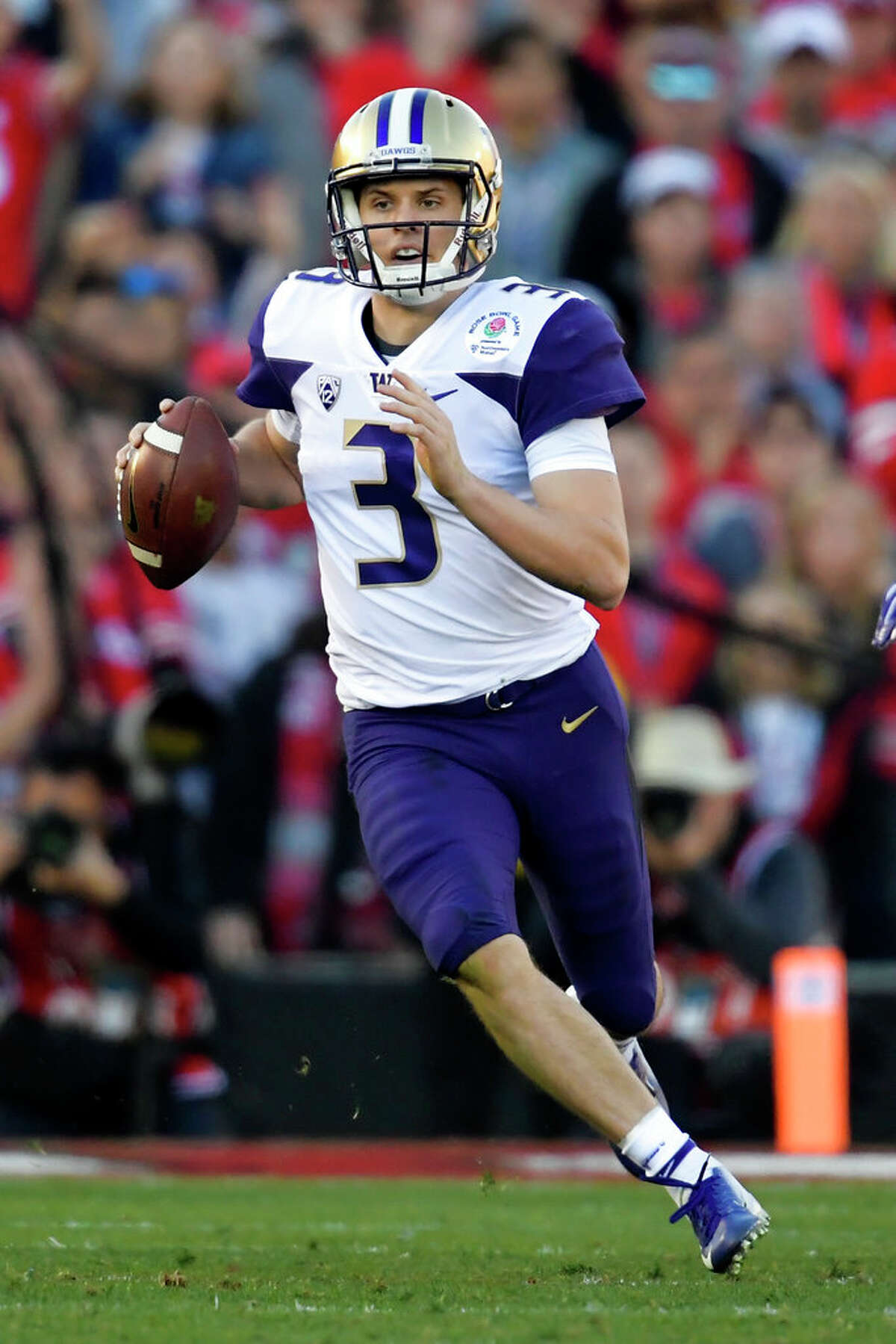 Quarterback Jake Browning Draft projection: 7th round-undrafted