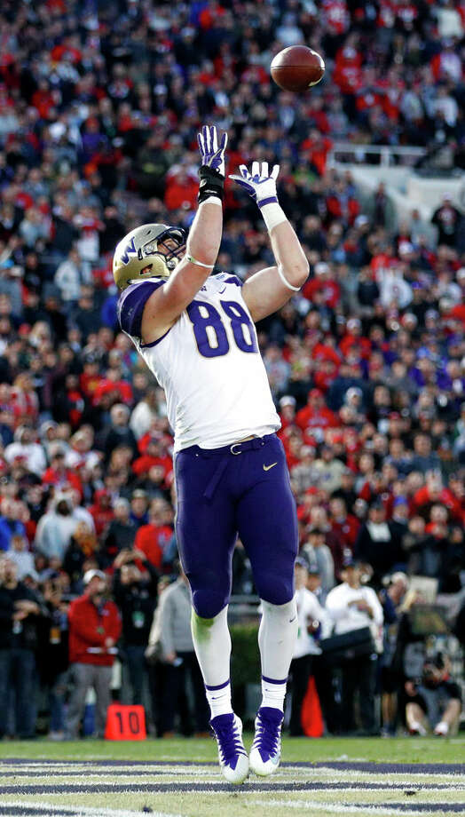 Drew Sample, Cincinnati BengalsOne of the more unexpected picks of the draft, Sample was taken by the Bengals with the 52nd overall selection. While he was widely seen as one of the draft's best blocking tight ends, a lack of top-end receiving production seemed to limit his NFL prospects – but the Bengals clearly felt otherwise. Sample did catch the passes that Jake Browning sent his way in college, so he could emerge as a receiving threat. His blocking ability, though, is what will get him first team reps. Like the Cardinals, the Bengals are a team looking to turn things around. That's just about perfect for a rookie trying to get his first start. Photo: Jae C. Hong/AP / Copyright 2019 The Associated Press. All rights reserved
