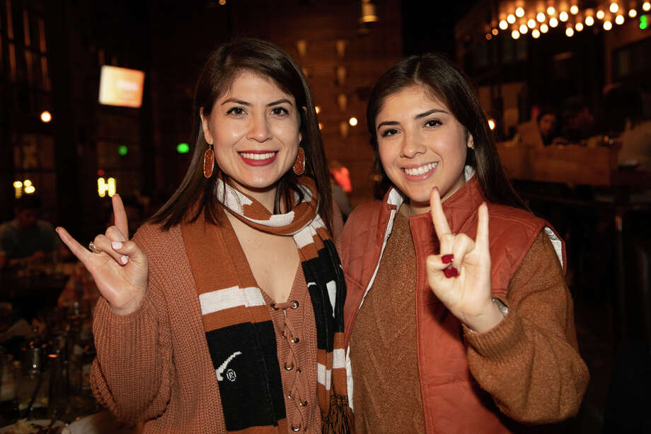 The Rustic was bleeding burnt orange as Texas fans cheered on the Longhorns in the 2019 Sugar Bowl on the first day of the new year. Photo: Joel Pena