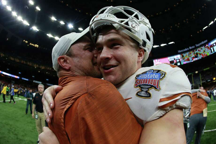 PHOTOS: A look at each conference's bowl performance this season Sam Ehlinger and Tom Herman bolstered the Big 12 by leading Texas to a win over Georgia in the Sugar Bowl on Tuesday night. Browse through the photos above for a look at how each conference did in bowl games this season ... Photo: Getty Images / 2019 Getty Images