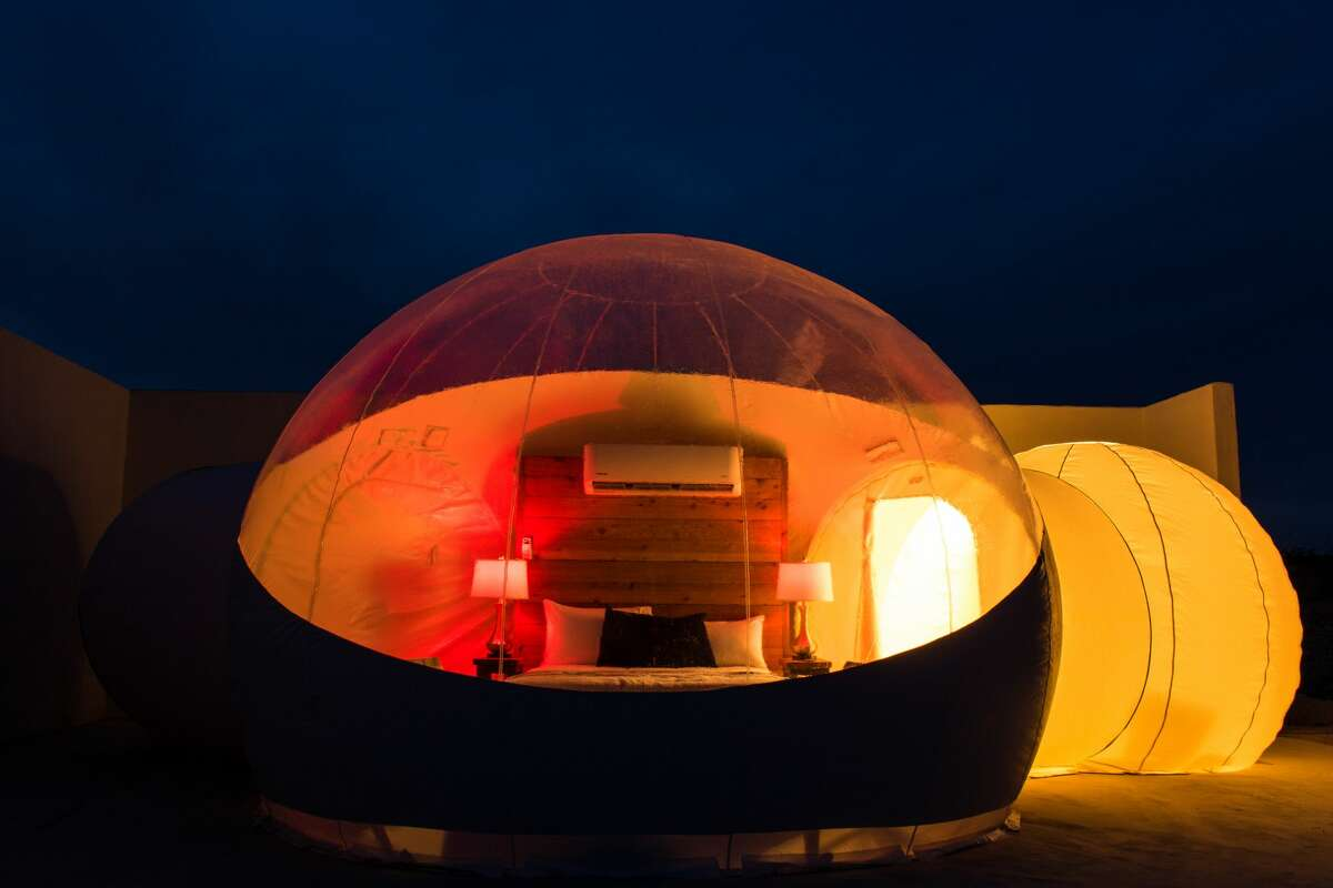 The Basecamp Bubbles as Basecamp Terlingua are now available to rent.