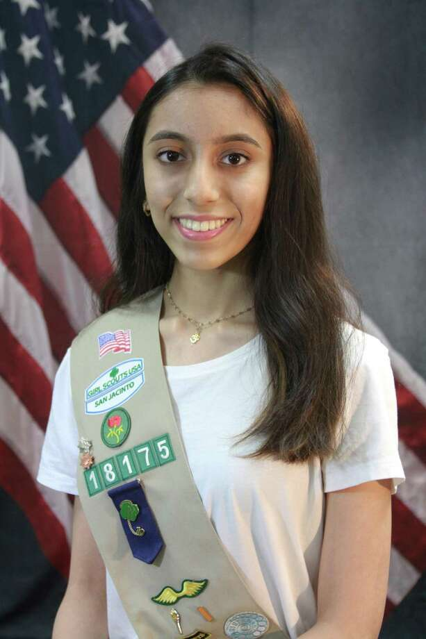 Ruhi Thapar, a Memorial High School senior, has become a Gold Award Girl Scout. Thapar created an oral record of the concise history of the Memorial Villages and Spring Branch area. Her project brought people close by enlightening them about the importance of traditions and community events. Photo: Courtesy Photo