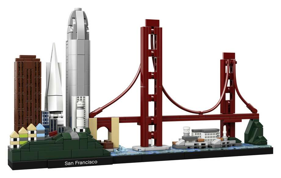 Lego released a kit of the San Francisco skyline on January 1, 2019. The kit can be purchased online and in-stores for $49.99. Photo: Courtesy: Lego