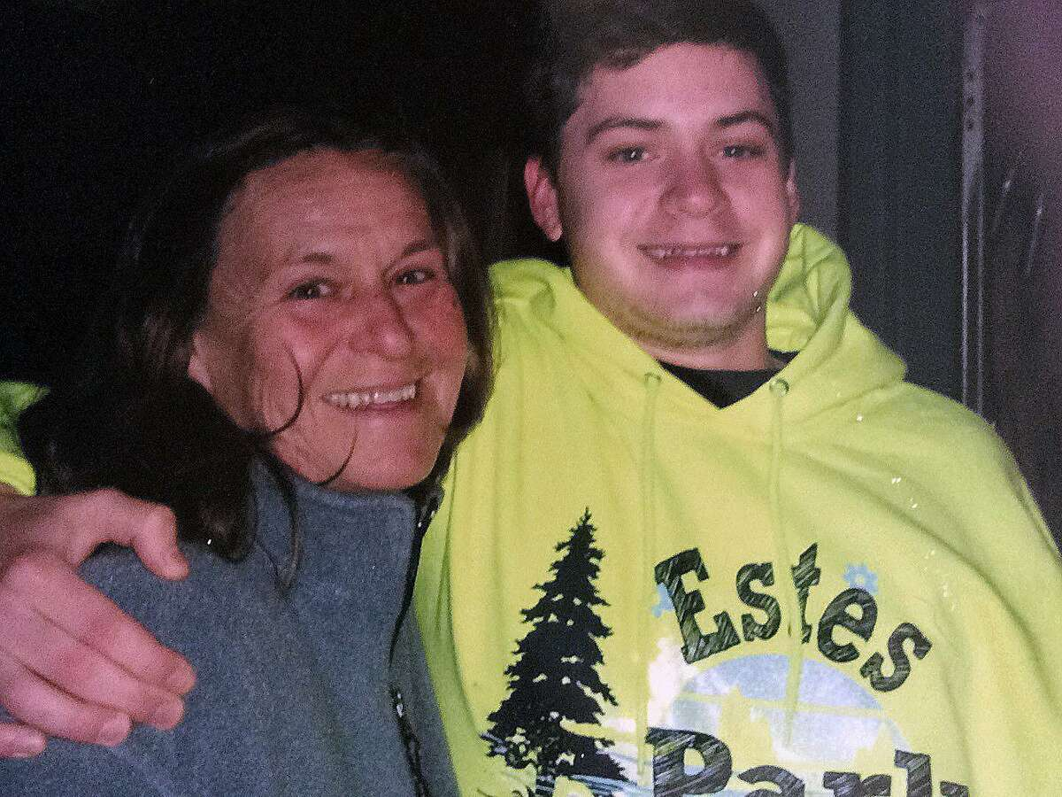 Chris Lynch with his mom, Pam Bacco. Chris died in New Canaan, CT on Sept. 25, 2016.