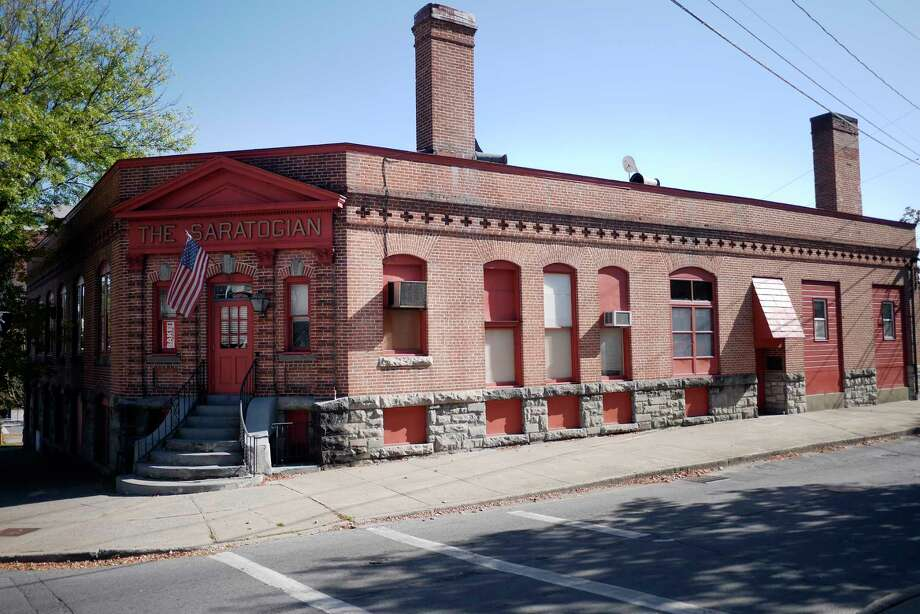 Walt & Whitman beer hall & coffee house will occupy the former Saratogian building at Lake and Maple avenues in downtown Saratoga Springs.  Photo: PAUL BUCKOWSKI, Albany Times Union / 20041755A