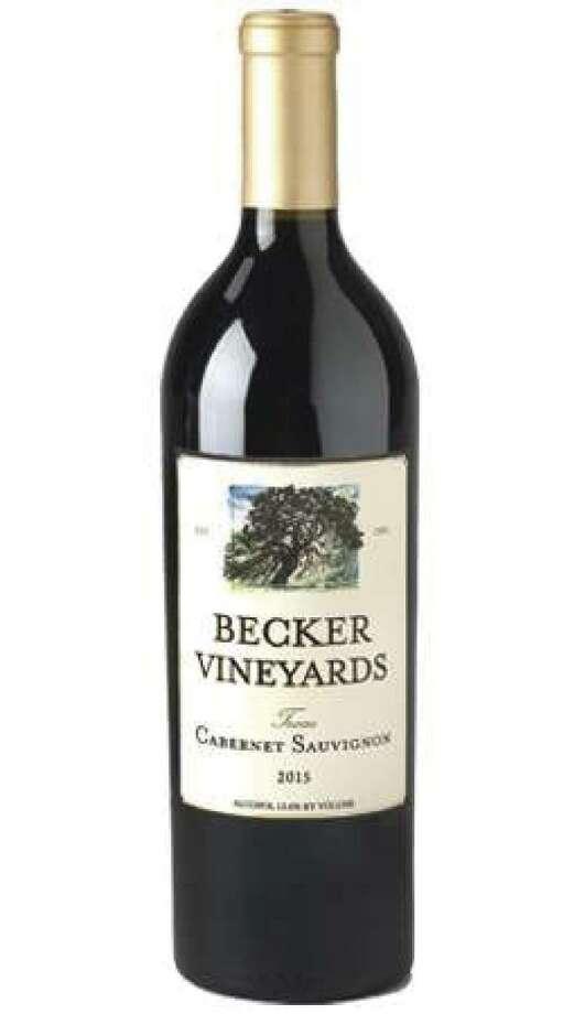 2015 Cabernet Sauvignon from Becker Vineyards