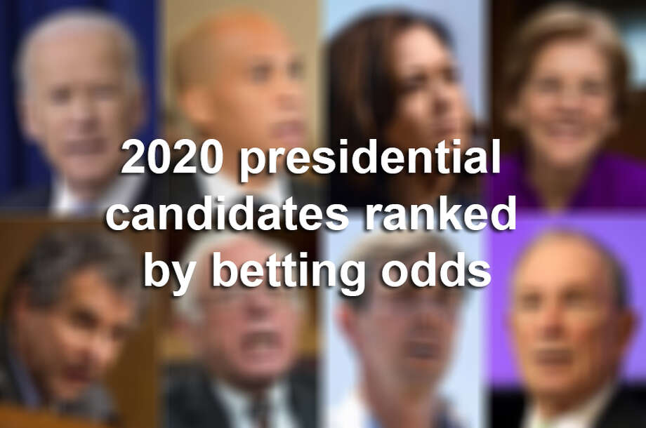 Keep clicking through this slideshow to see 2020 presidential candidates ranked by betting odds. Photo: Houston Chronicle