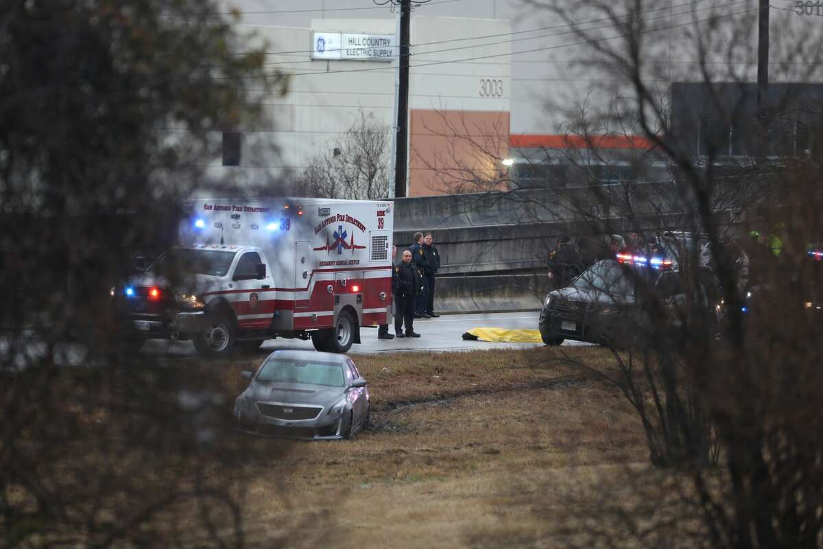San Antonio police responded to an alleged officer involved shooting Jan. 2, 2018 near Austin Highway and Perrin Creek.