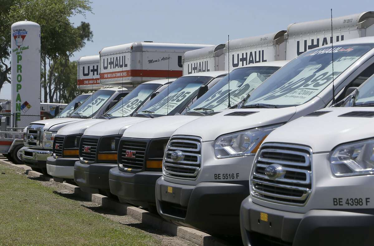 More people took one-way U-Haul trips to Sacramento and Roseville than any other area last year, according to the rental company.