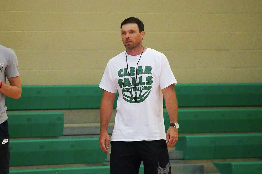 Clear Falls boys' basketball coach Blake Joy hopes his team can play smart for four quarters Friday against Clear Lake. Photo: Kirk Sides / Houston Chronicle / © 2018 Kirk Sides / Houston Chronicle