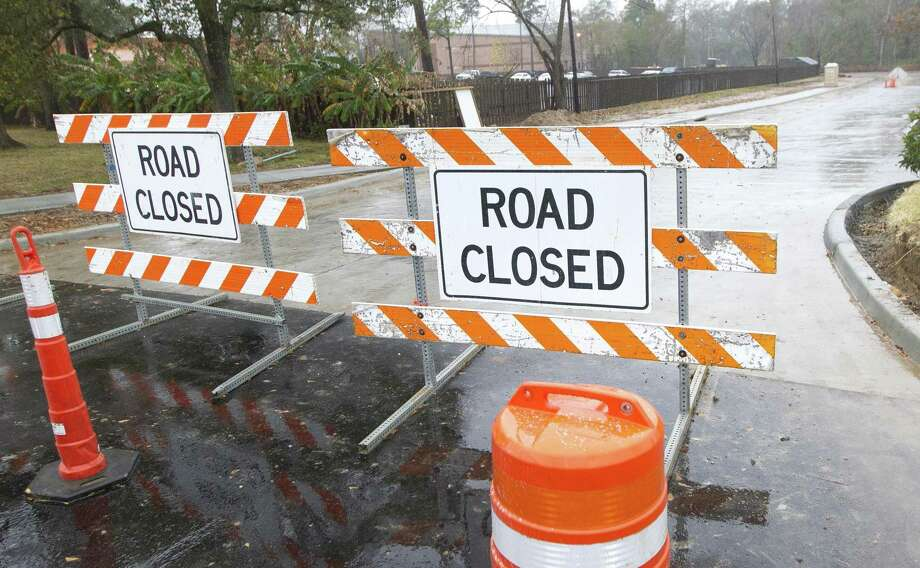 A $1.2 million, two-lane road that connects the Interstate 45 service road to FM 2854 is expected to be open by the end of January. The road, which runs east around the Montgomery County Library, will also give access to the future site of the Montgomery County Veterans Memorial and Spirit of Texas complex. Photo: Jason Fochtman, Houston Chronicle / Staff Photographer / © 2018 Houston Chronicle