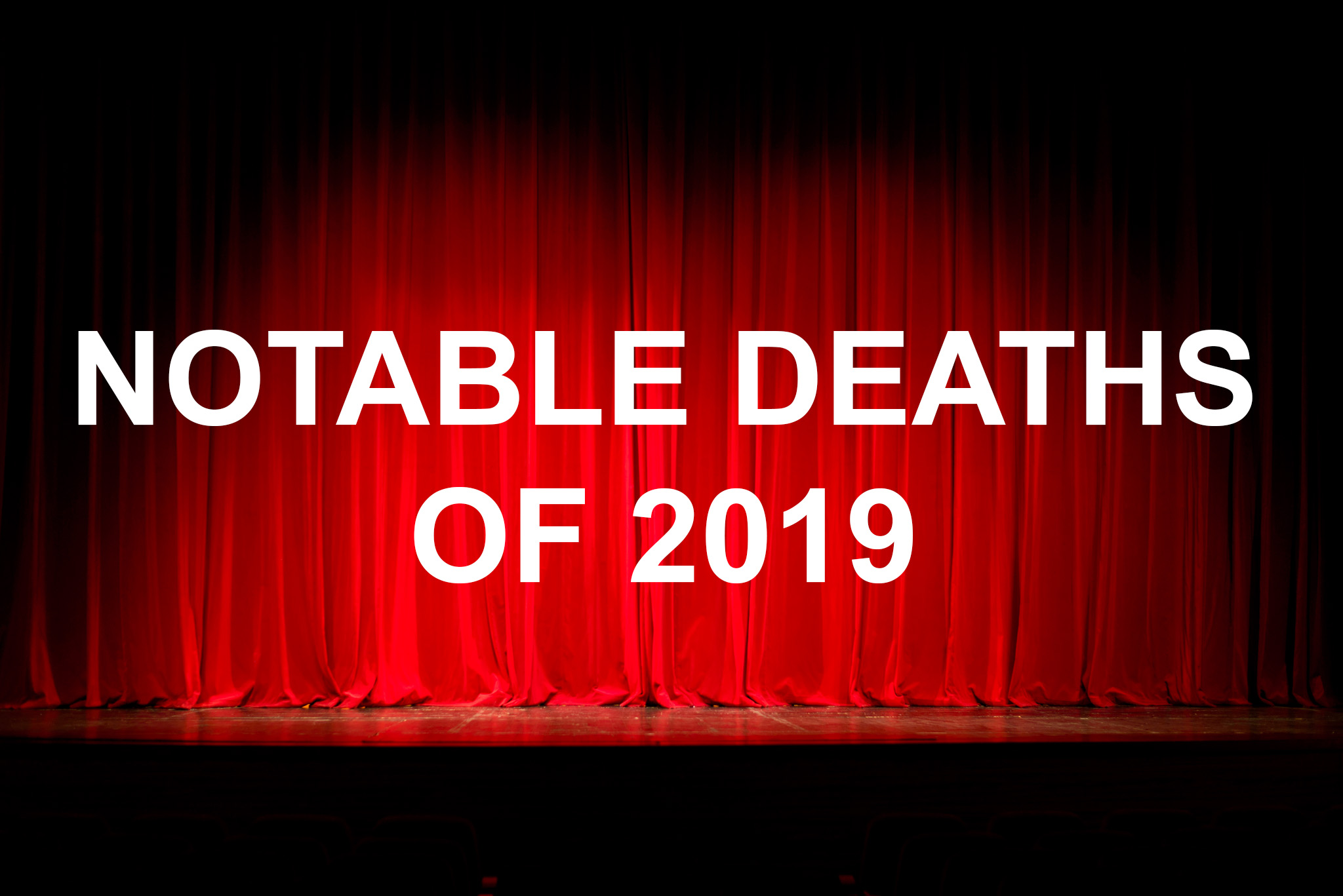 Celebrity deaths 2019 slideshow creator