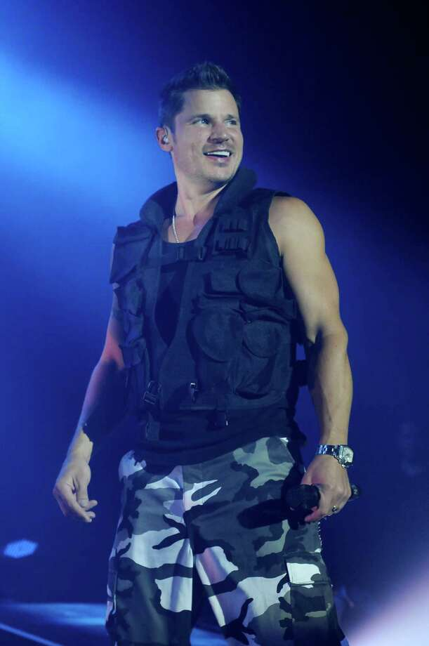 Nick Lachey of 98 Degrees Photo: Dave Rossman / For The Chronicle / Dave Rossman