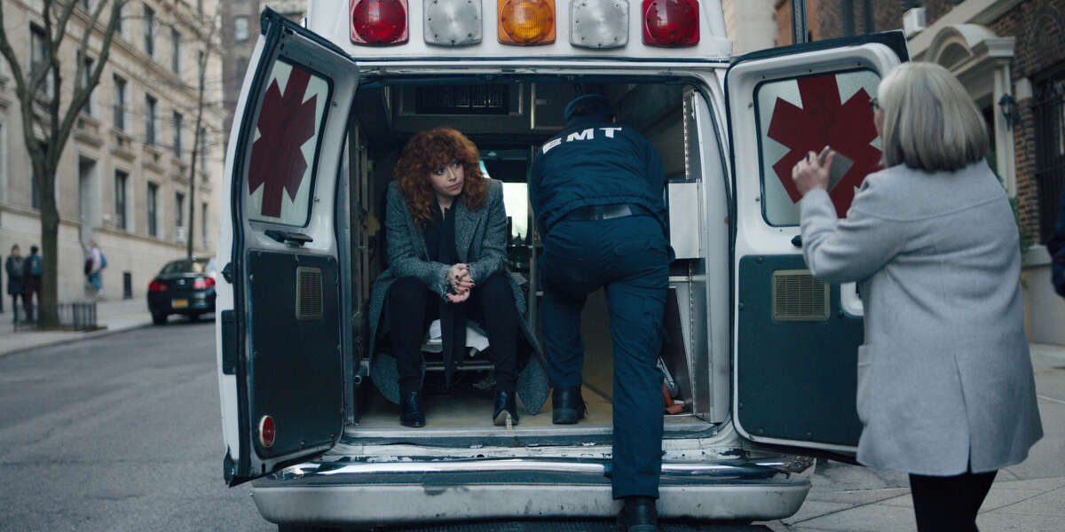 Russia Doll: Natasha Lyonne stars as a woman who keeps reliving the night of her 32nd birthday, and finds herself dying over and over again. A dark