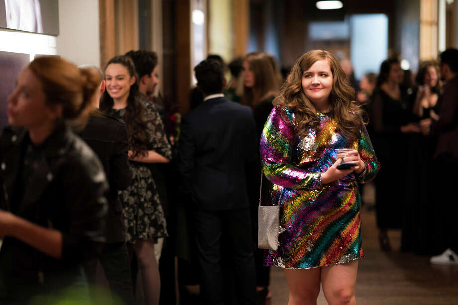 "Aidy Bryant in a still from Hulu's ""Shrill"" Photo: Allyson Riggs/Hulu / 2018 Hulu"