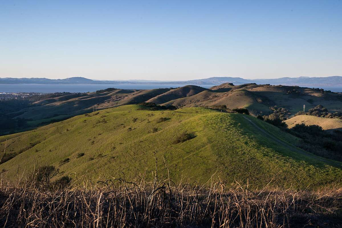 Rolling Hills are along the Conlon Trail on Thursday, Dec. 27, 2018, in Wildcat Canyon Regional Park, Calif.