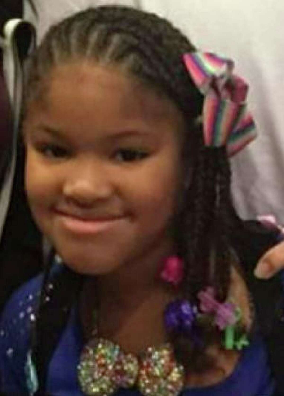 Jazmine Barnes, 7, was shot and killed in a drive-by shooting. >>See photos from Barnes' funeral in the images that follow...