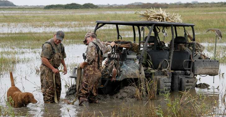 Near non-stop rains across Texas during autumn and early winter have created challenges for hunters, with waterfowlers getting a double dose as high water levels have scattered wintering birds and made for muddy going while afield.