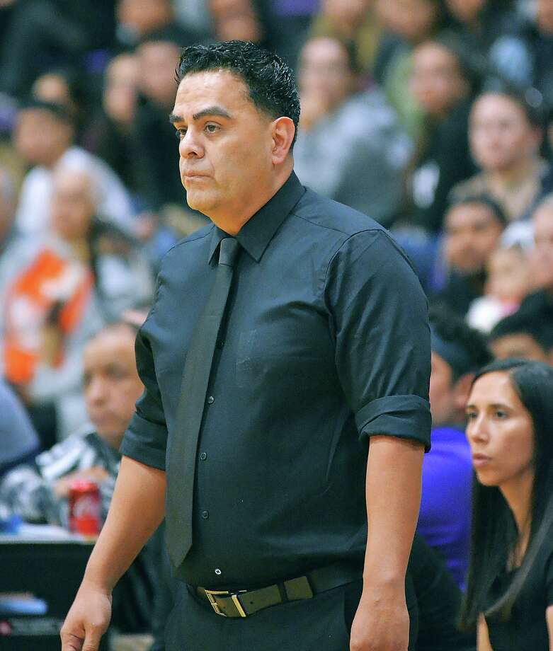 Head coach Jose Ojeda is up to 80 wins in his five seasons at LBJ after the Wolves won 68-43 Tuesday at Carrizo Springs. Photo: Cuate Santos /Laredo Morning Times File / Laredo Morning Times