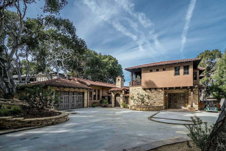 7030 Valley Knoll Road in Carmel is a five-bedroom, three-and-a-half-bathroom Mediterranean estate available for $5.388 million. Photo: TourFactory