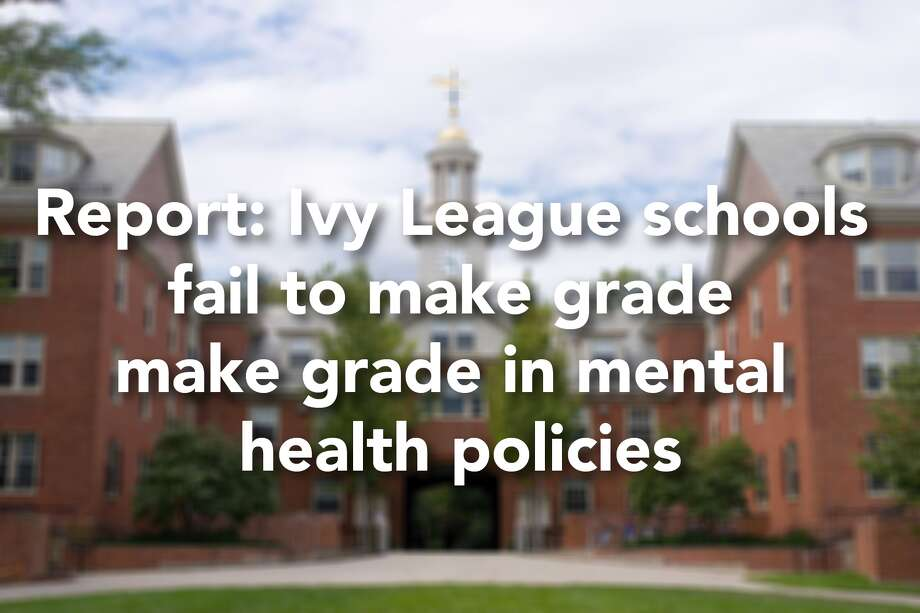 The nation's eight Ivy League schools were ranked according to their mental health policies in a new report by the Ruderman Family Foundation. Click through the slideshow to see how Yale University stacked up against other Ivy Leaguers in the study. Photo: Kenneth C. Zirkel