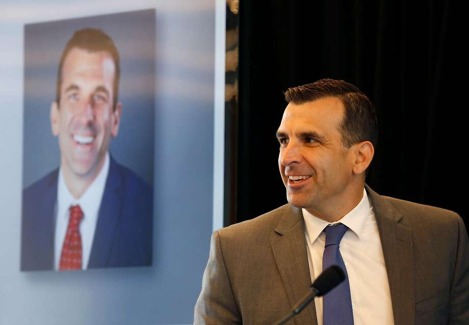 San Jose Mayor Sam Liccardo attends the opening of the Continental Silicon Valley Research and Development Center for automotive technology in San Jose, Calif. on Wednesday, April 12, 2017. Photo: Paul Chinn / The Chronicle 2017